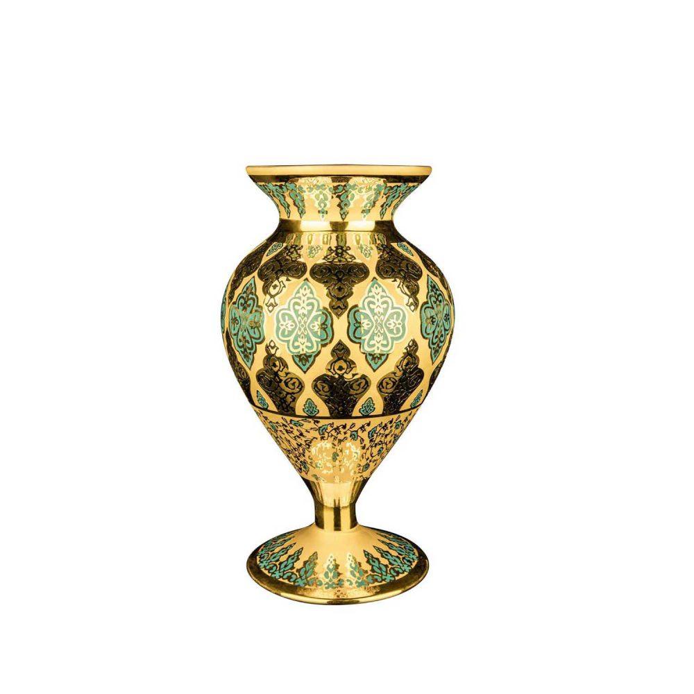 خرید گلدون سلطنتی کریستال + رنگی (جام آفرین)