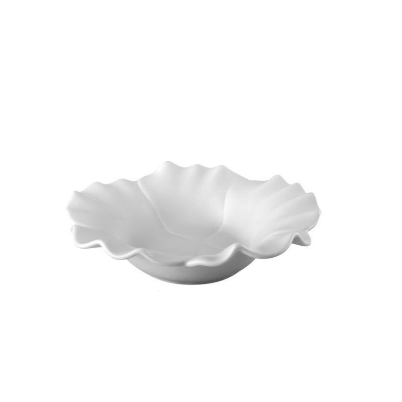 خرید ظرف میوه خوری سفید گلدکیش طرح Elegant