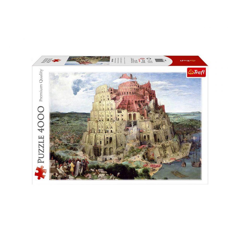 پازل 4000 تکه ترفل مدل برج بابل