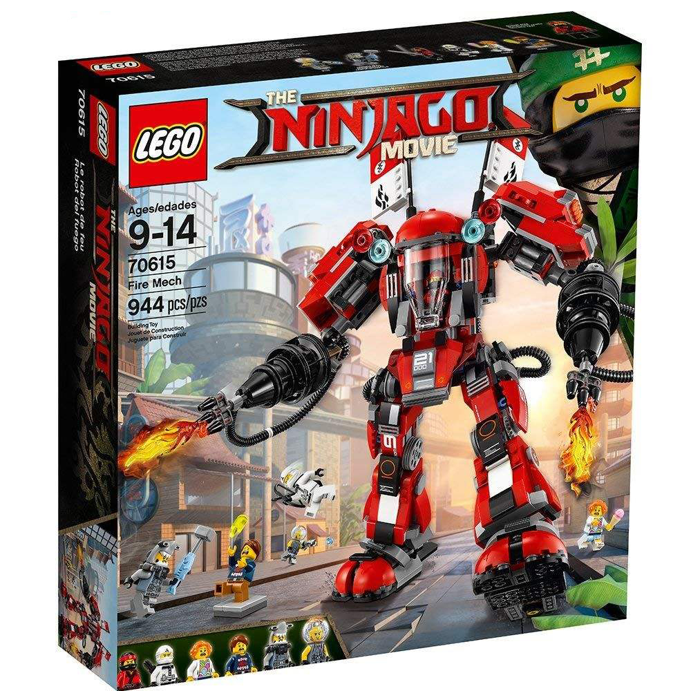 لگو سری Ninjago Movie مدل 70615